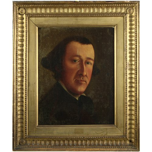Antique Oil Portrait Painting - The UK's Largest Antiques Website
