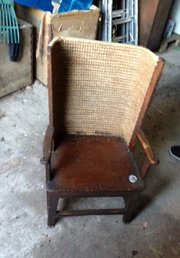 18 century Orkney Chair dated 1782