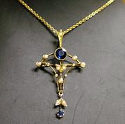 1910s Lavaliere brooch/pendant