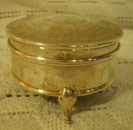1920 Silver box
