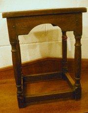 1930 Oak stool