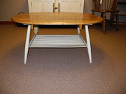 1960 shabby chic Ercol coffee table
