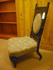 19c Nursing chair