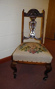 19th Century Ladies Nursing Chair
