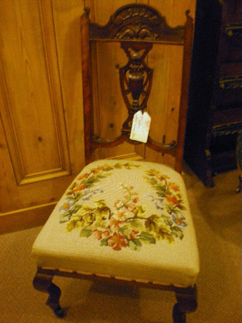 19thc Ladies Nursing chair