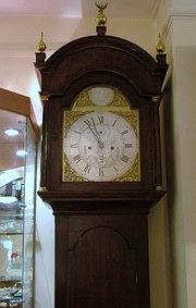 8 day longcase clock