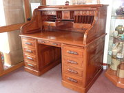 A magnificent quality Victorian roll top desk