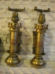 A pair of 1900 G,W.R Carriage lights