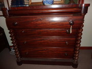Beautiful Victorian Ogee Chest of Drawers