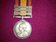 Boer war South Africa Medal