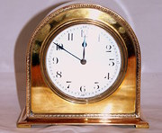 Beautiful brass clock circa 1910