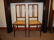 Fine Pair Of Edwardian Bedroom Chairs