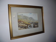 Isle Of Arran Watercolour Tom Paterson
