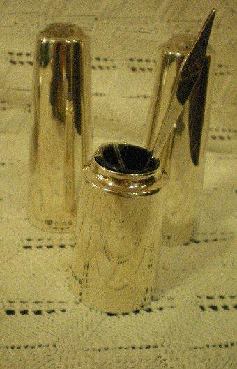 London Silver 1964 condiment set