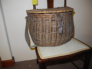 Lovely Old Fishing creel/basket