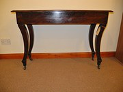 Mahogany Console Or Side Table
