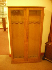 Medium size Fine Oak  gun cabinet
