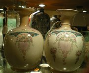 Nice Pair Of Edwardian Vases