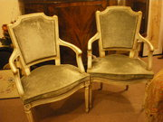 Pair of Early 19thc Chairs