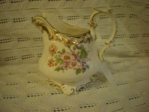 Pretty cream jug with provenance 1840