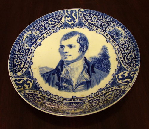 Rabbie Burns Plate