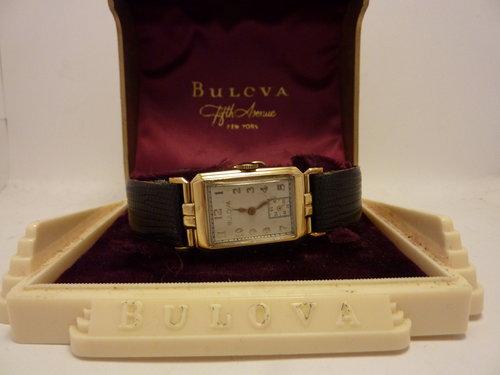 Rare 1938 Bulova 'Brewster' Watch