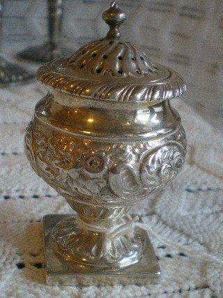 Silver Pounce Pot 1893