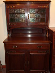 Stylish Arts & Crafts Mahogany Dresser
