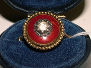 Unusual Diamond Ring