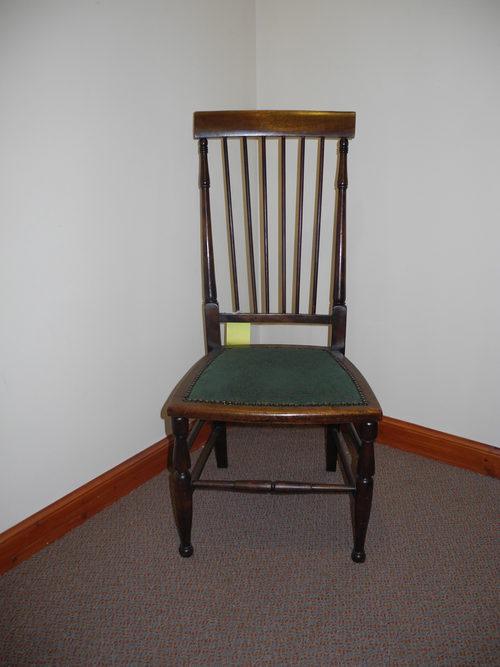 Victorian Mahogany Bedroom Chair