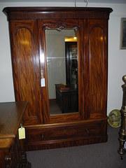 Fine Quality Victorian Mahogany Wardrobe