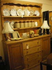 Vintage Pine Farm House Dresser