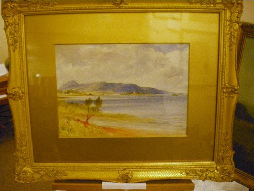 Watercolour Of Loch Leven By John Blair