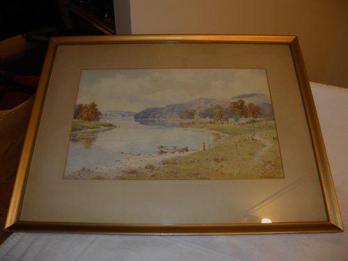 Watercolour The Lake