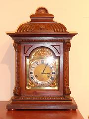 Oak German clock
