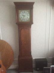 Longcase Clock Jas. Andrews