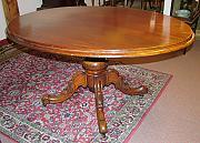 Victorian pedestal table