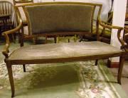 Edwardian Parlour Seat
