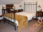 Brass & Iron bed frame