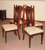 Set of 4 Arts & Crafts Chairs