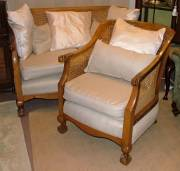 Bergere Sofa + 2 Chairs