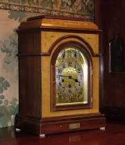 Victorian Mahogany Clock