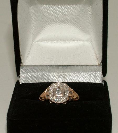 9ct Gold Edwardian Ring