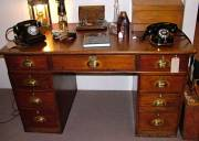 Captain's fitted desk