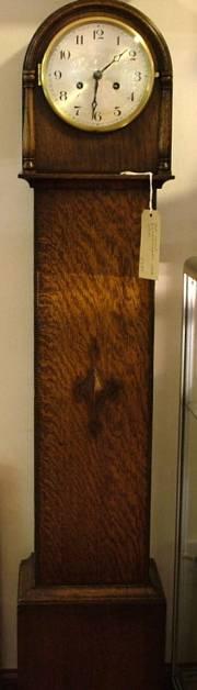 Oak granddaughter clock