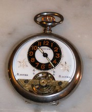 Superb vintage 8 day swiss pocket watch