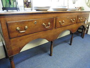 18th century Camarthenshire Oak Dresser