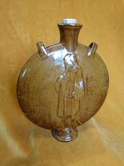 19th Century Moon Flask
