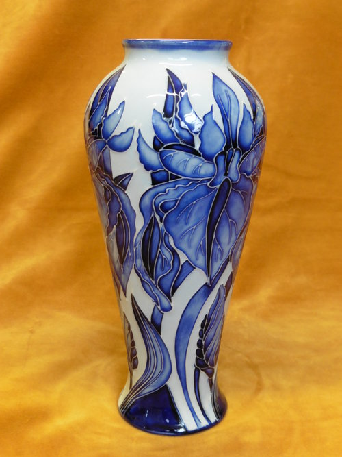 A Moorcroft Trial Vase