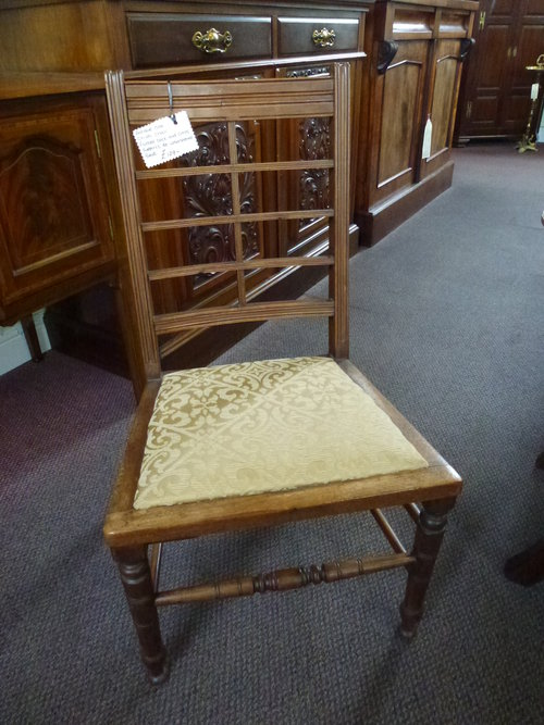Antique Oak Childs Chair